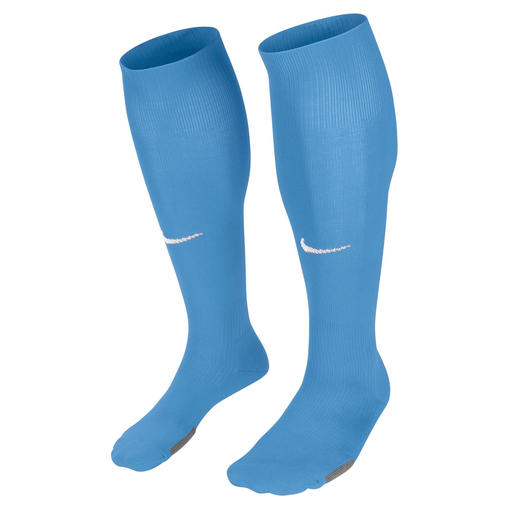 nike classic iii sock sky blue