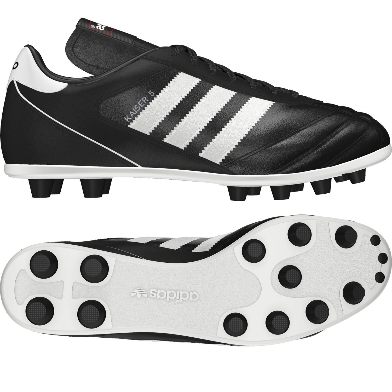 purchase cheap e9a9e 32bfd Adidas Kaiser 5 Liga (Black White) - The Football Factory