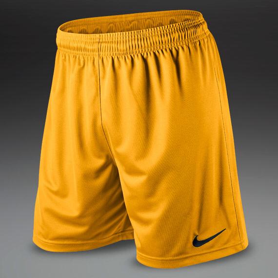 d2f403c08d46 Boys Yellow Nike Dri-Fit Football Shorts - The Football Factory