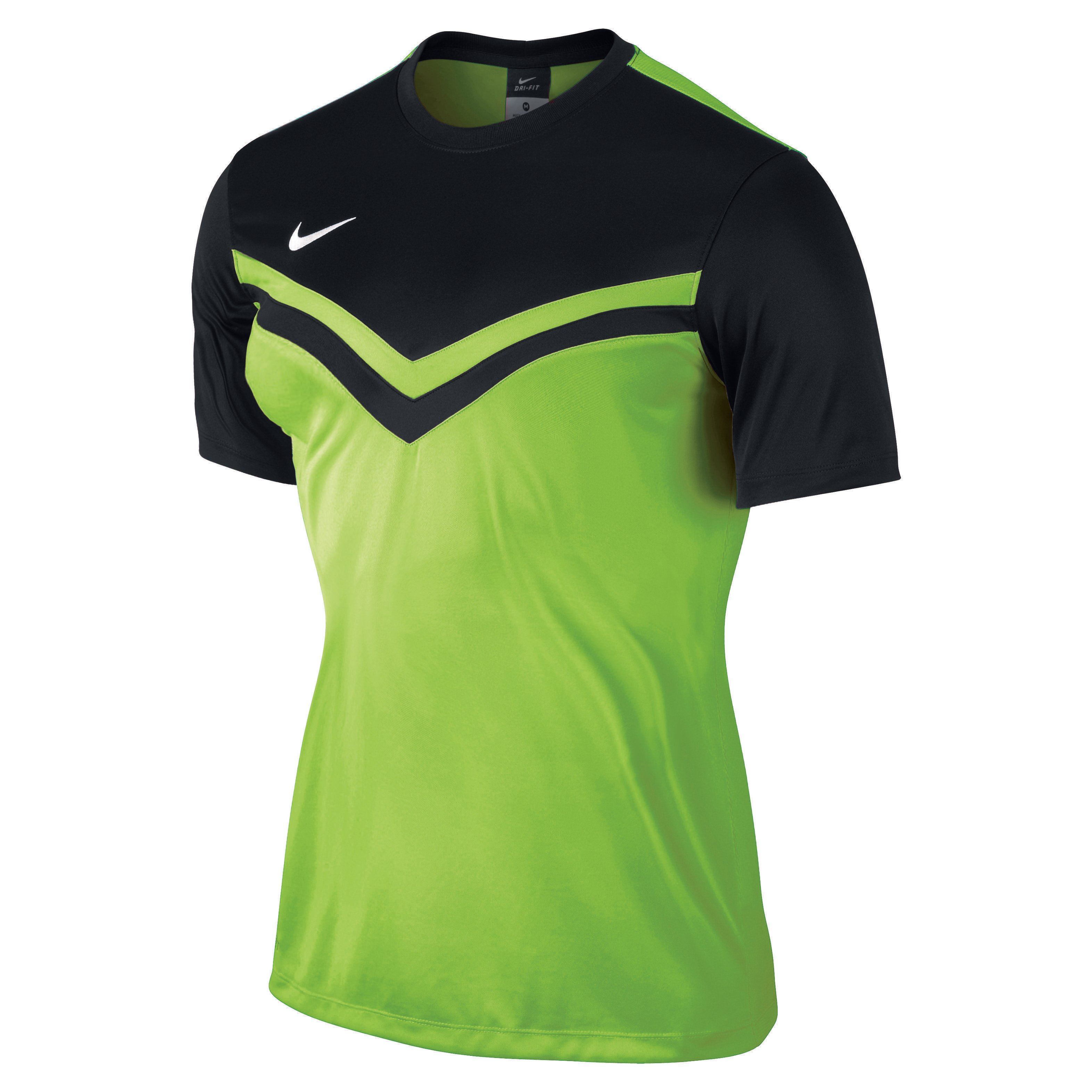Women s Victory II Jersey (Electric Green Black) - The Football Factory 640ce4c07