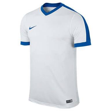 competitive price 3d1f4 d822a Nike Striker IV Jersey (White Royal) - The Football Factory