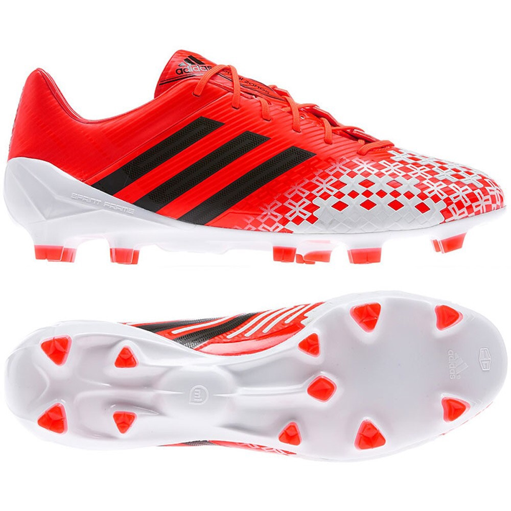 Adidas Predator LZ TRX FG SL (Red White Black) - The Football Factory 338962d11724