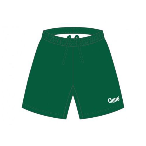 Cigno Alley Shorts Dark Green The Football Factory