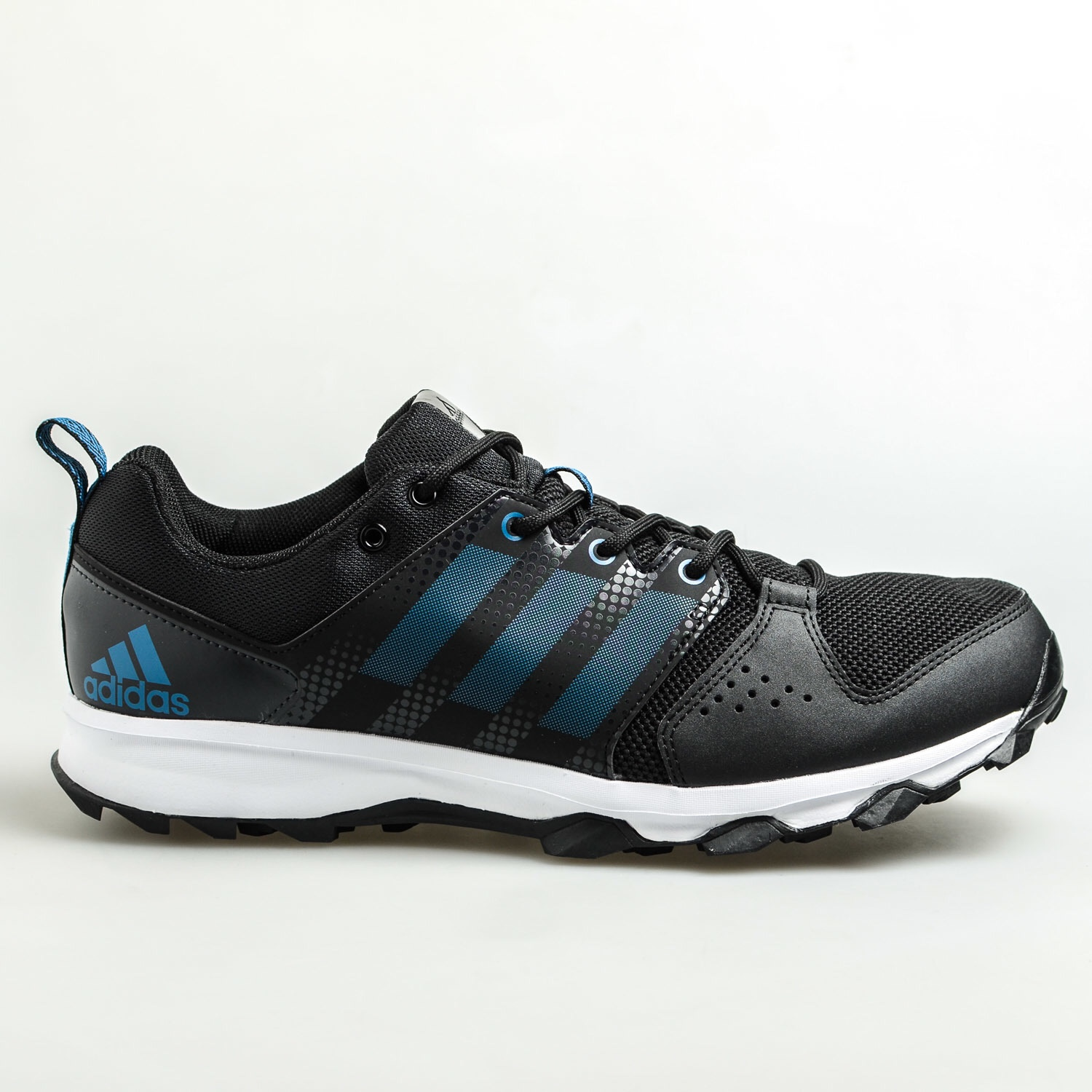 df0f935b61c Adipure Trainer 360 Black Blue - The Football Factory