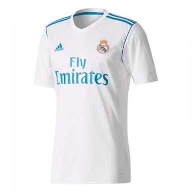 83b34bce520 Real Madrid 17/18 Home Jersey - The Football Factory